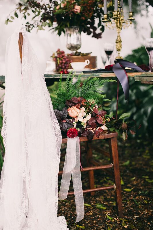 Ruby-styled shoot